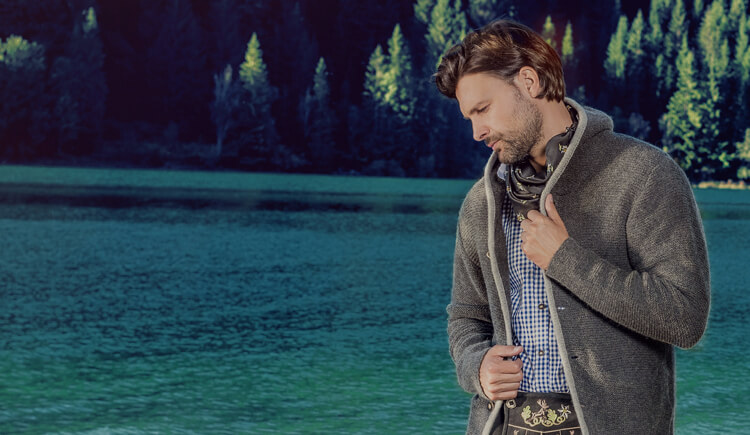 Bavarian cardigans for men