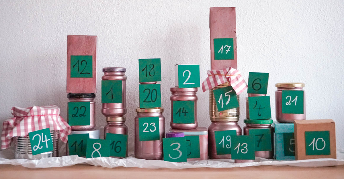 DIY - Adventskalender ganz einfach selbst basteln und befüllen