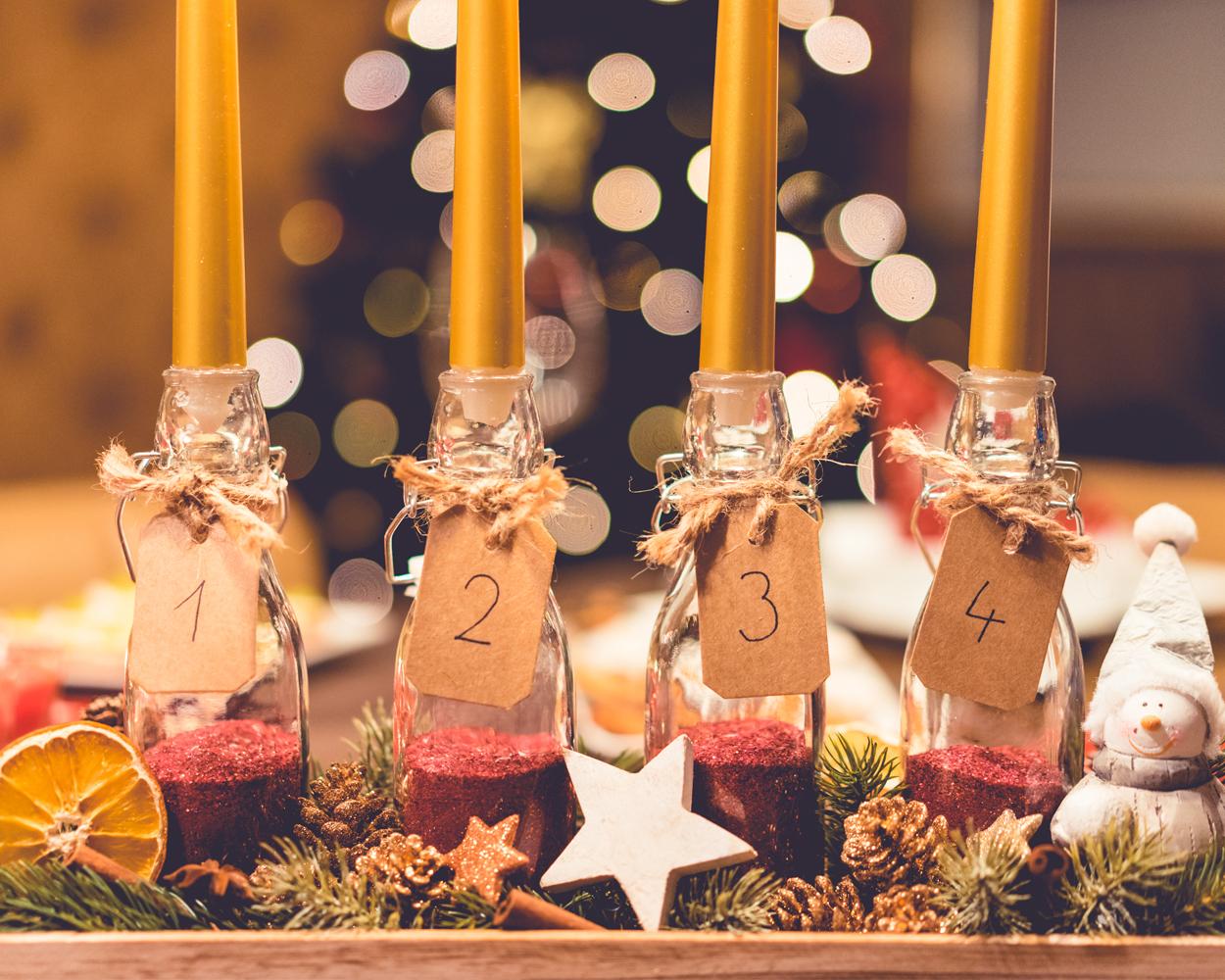 Advent, Advent, ein Lichtlein brennt.