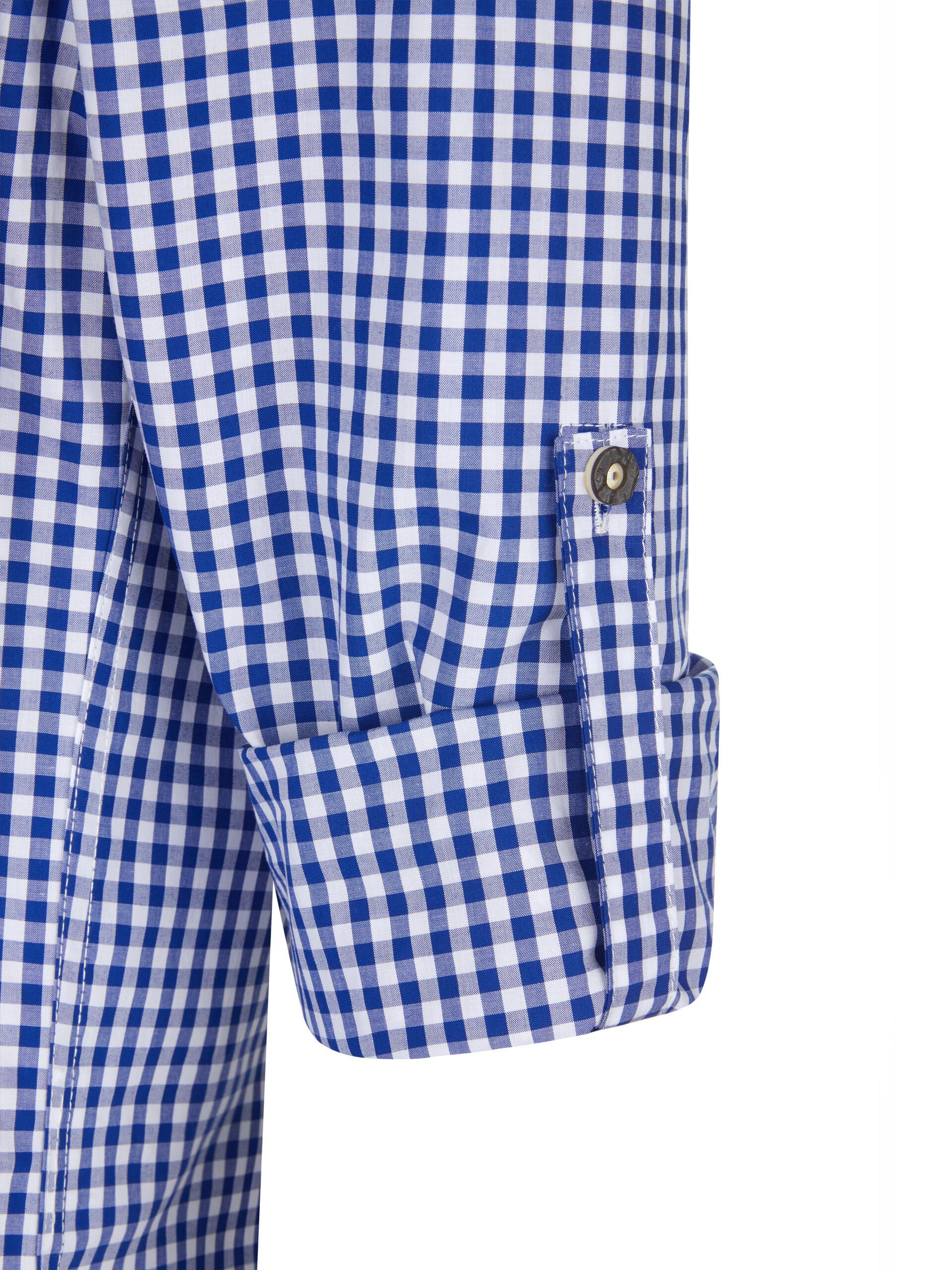 Trachten Hemd Alois karo blau-weiss-kariert 5169c4cb06