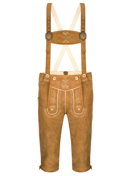 Bavarian Goatskin Lederhosen Gustav exclusive (brown)