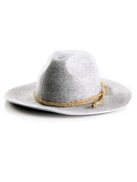 Bavarian hat men H3-054 gray