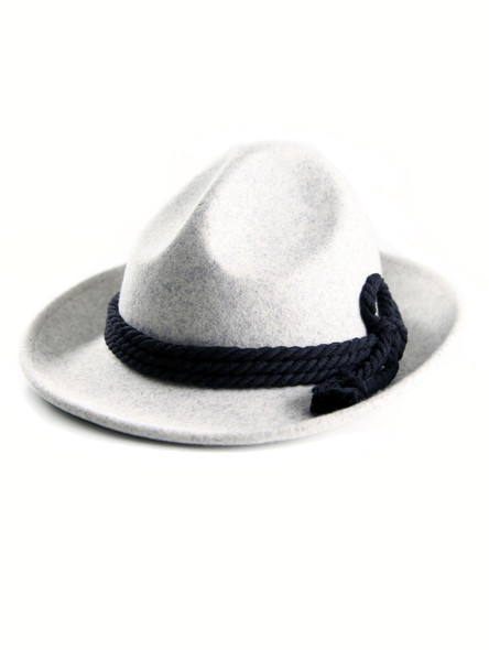 Bavarian hat men H4-053 light gray