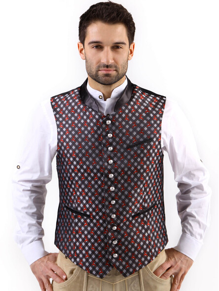 Bavarian vest Titus exclusive (anthracite)
