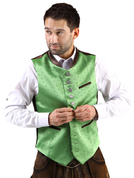 Bavarian vest Lorenz exclusive (green)