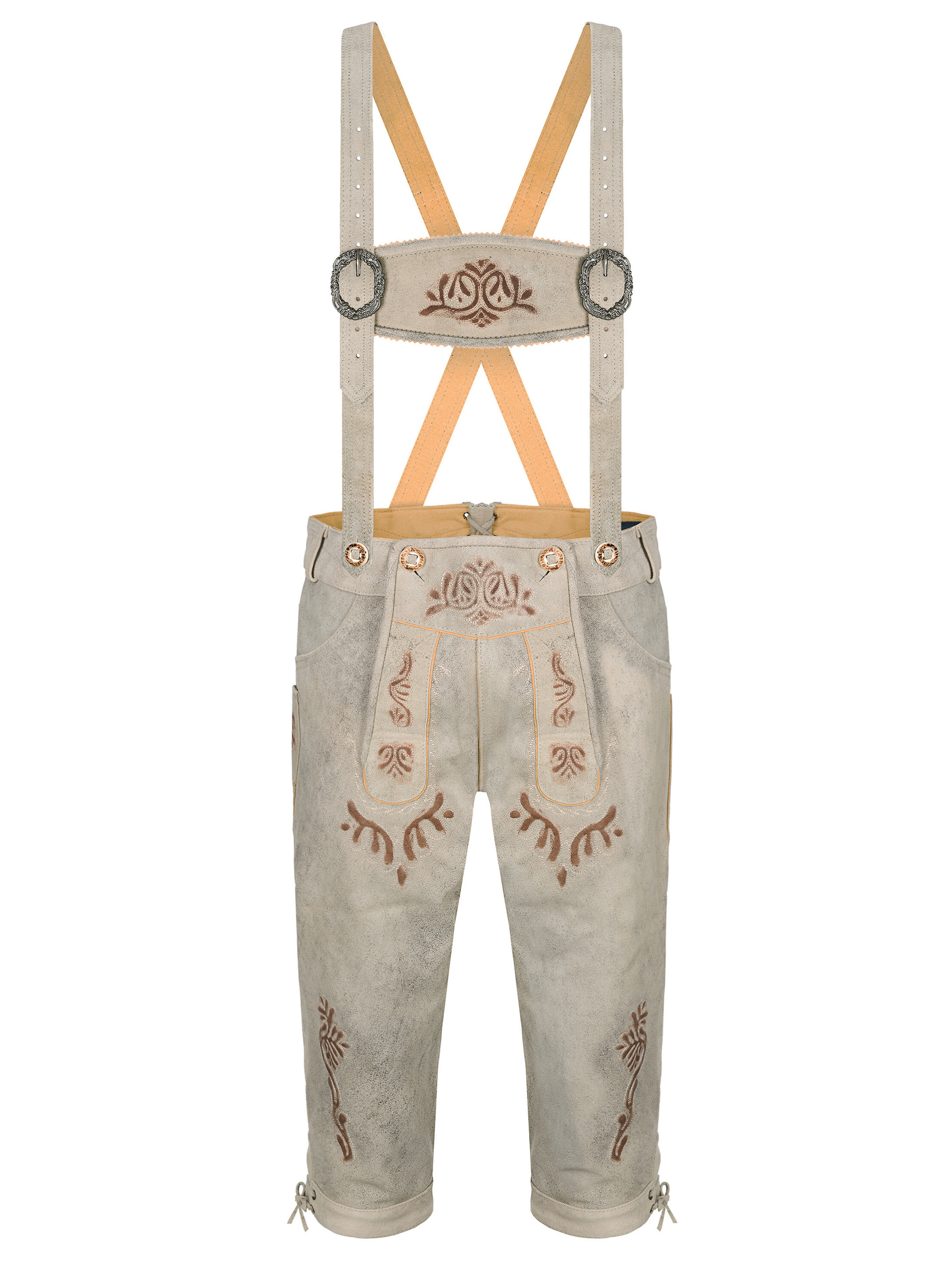 bavarian lederhosen fridolin vintage look beige trachten24. Black Bedroom Furniture Sets. Home Design Ideas