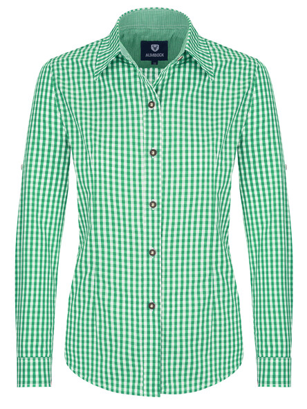 Bavarian blouse Jessi (green)