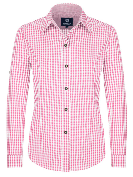 Almbock Trachtenbluse Jessi pink
