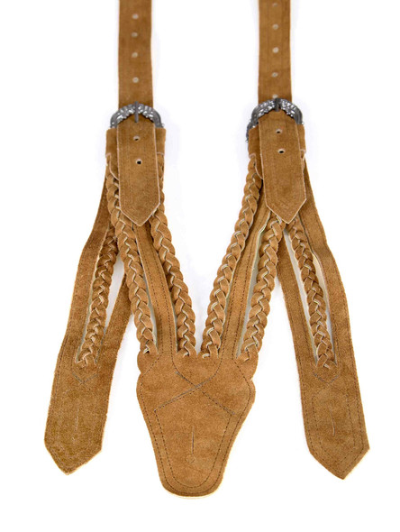Bavarian suspenders medium brown (Norwegian style)
