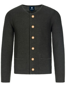 Bavarian-cardigan-Alfonsius-black-anthrazite-M