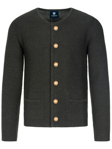 Bavarian-cardigan-Alfonsius-black-anthrazite-XL