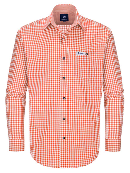 Bavarian shirt Hannes orange