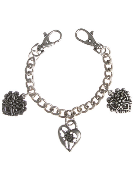 Bavarian charivaria antique silver with hearts
