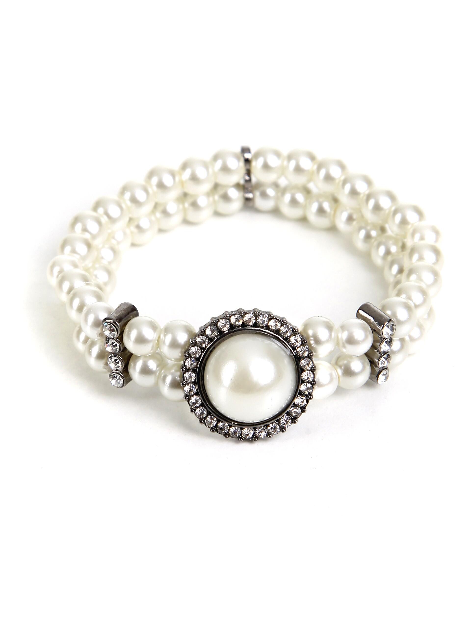 trachten armband mit perlen und steinen b1 trachten24. Black Bedroom Furniture Sets. Home Design Ideas