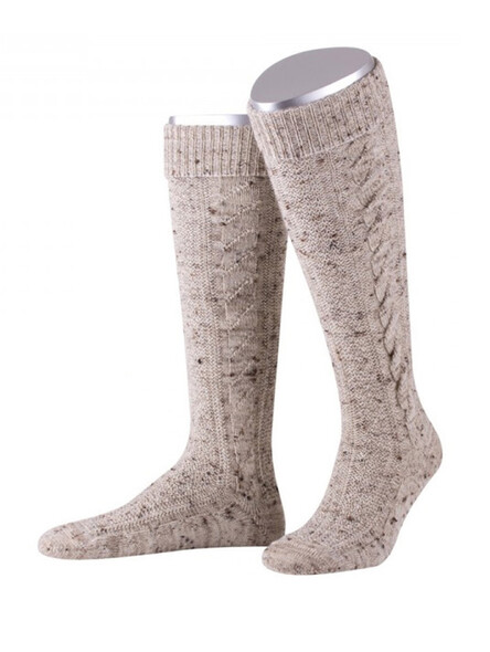 Bavarian socks Chiemgau (medium beige)