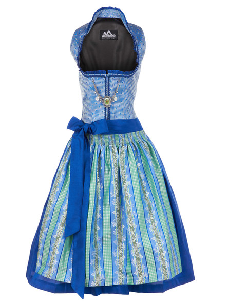 Dirndl Janice blue-green (exclusive)