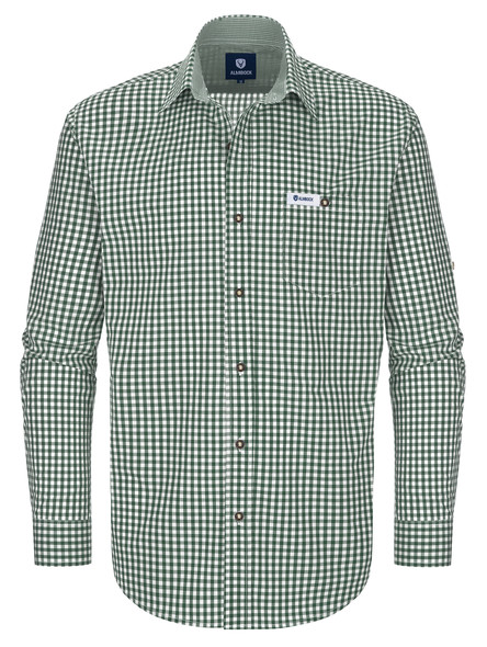 Bavarian shirt Anton (green check)
