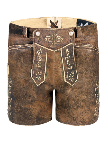 Bavarian Lederhosen Sissi antique-used goat
