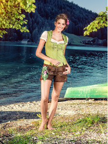 "Bavarian Outfit Ladies ""Anni"""