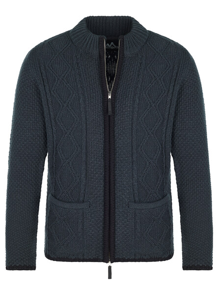 Almbock bavarian cardigan Chris anthracite