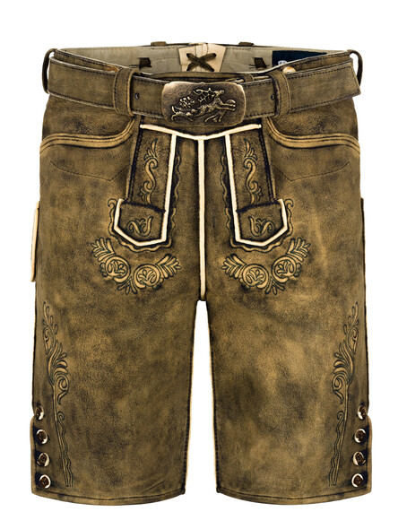 Bavarian lederhosen deer Joe (old brown used)