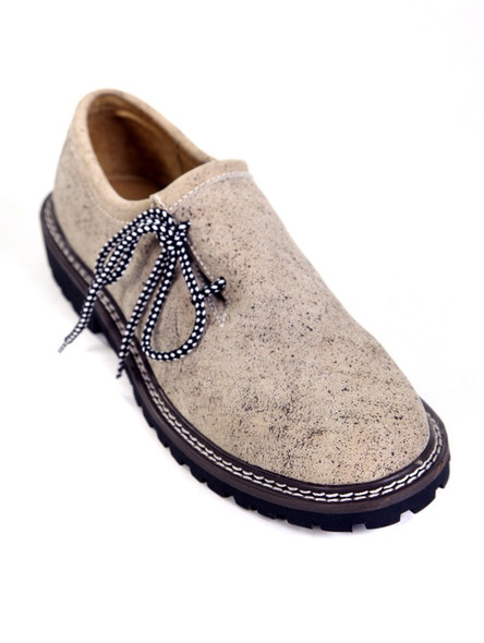 Exclusive old-antique bavarian shoes (beige)
