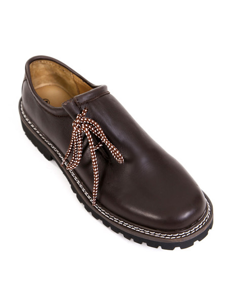 Bavarian brogues chestnut brown (plain leather)