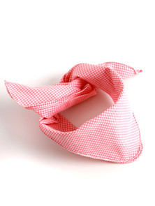 Bavarian scarve pink-checkered