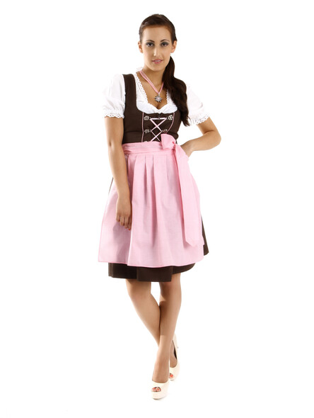 German dirndl mini Rosi 3-piece
